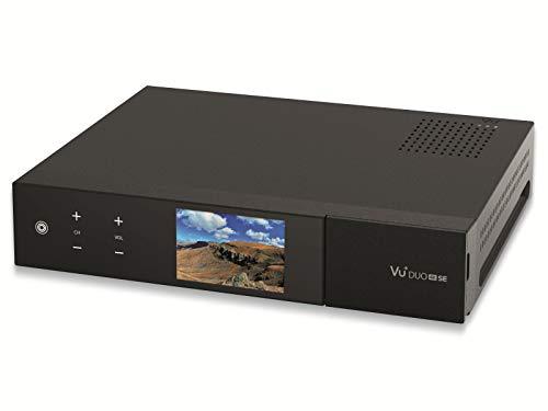 VU+ Duo 4K SE 1x DVB-S2X FBC Twin Tuner PVR Ready Linux Receiver UHD 2160p, ohne Festplatte