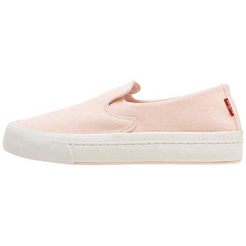 Levi's Women's Summit Slip ON S Sneaker, Light Pink, 7 UK