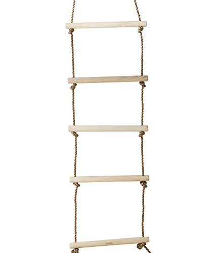 Jaques von London Premium-Seilzugleiter - Strickleitern für Kinder Sicherheits-Seilzugleiter für Baum- und Klettergerüste Kinder Spielzeug und Gartenspiele im Freien seit 1795