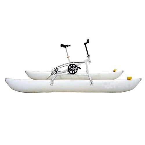 ZRXRY Equipo de Deporte de Pedal de Agua de la Resaca de Bicicletas Bicicleta Plegable Hydro Mar de Bicicletas