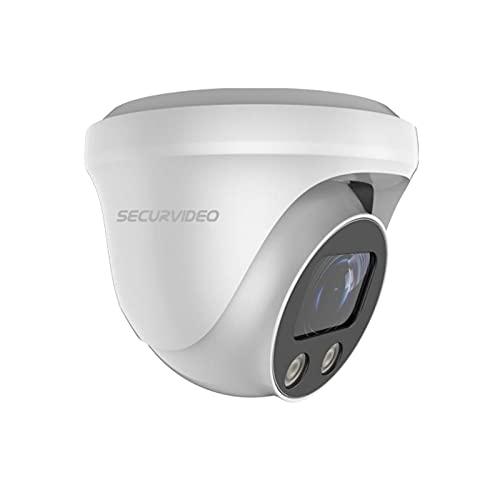 Securvideo Telecamera Turret Motorzoom Ahd Cvi Tvi Ibrida 4in1 4K 8Mp 5Mp 2.7-13.5mm Autofocus Osd Utc Ir 25m IP67