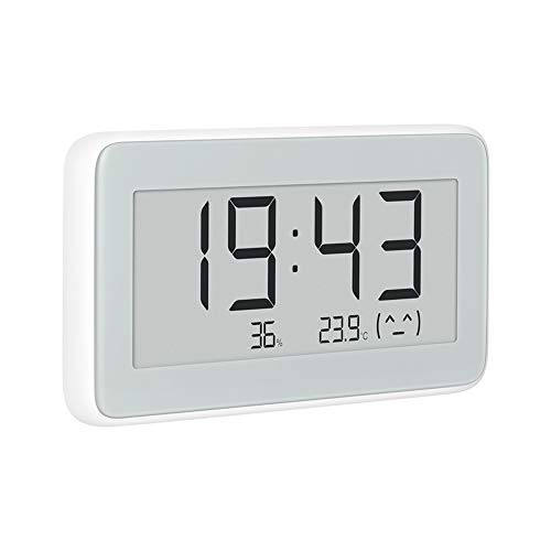 für Mijia Electronic Temperature and Humidity Pro, für Mijia Bluetooth thermometer Pro, Wireless Smart Electric Uhr Digitalthermometer für Innentemperatur Hygrometer