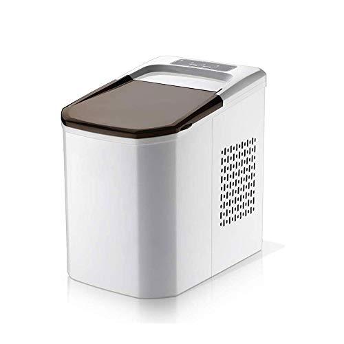 MUTANG Eismaschine Eismaschine Maschinen Aufsatz- Ice Cube 112 W Kompakter beweglicher & Quiet Home Kampagne Partei Ice Scoop und Basket