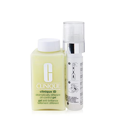 Clinique Clinique ID Dramatically Different Oil-Control Gel Base + Uneven Skin Tone Gesichtsgel, 125 ml