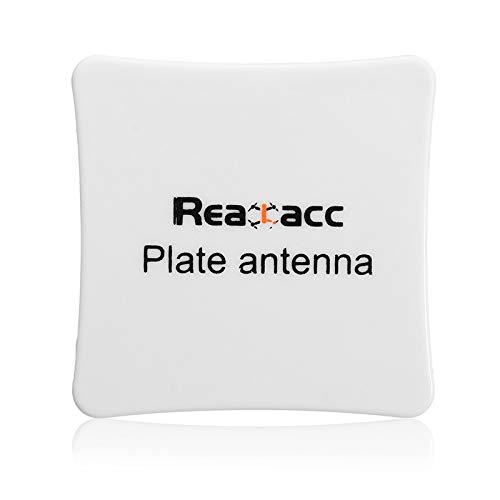 Wchaoen Realacc 5.8G 8dBi LHCP/Omni-direktionale FPV-Panel überzogene flache Antenne SMA/RP-SMA Werkzeugzubehör (Color : Connector RP-SMA Male Model)