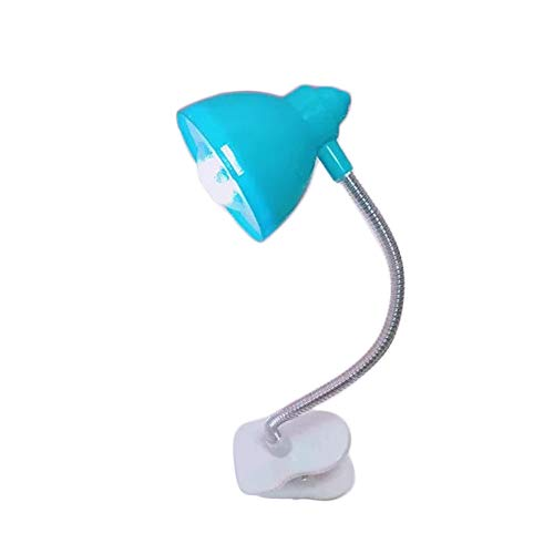 Gbell Kids Portable Book Reading LED Night Light Lamp,Cute Fine Travel Clip Booklight for Boys Girls Adutls,1Pcs 26CM Length