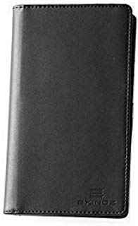 EXINOZ RFID Genuine Leather Passport Wallet with RFID Blocking Technology