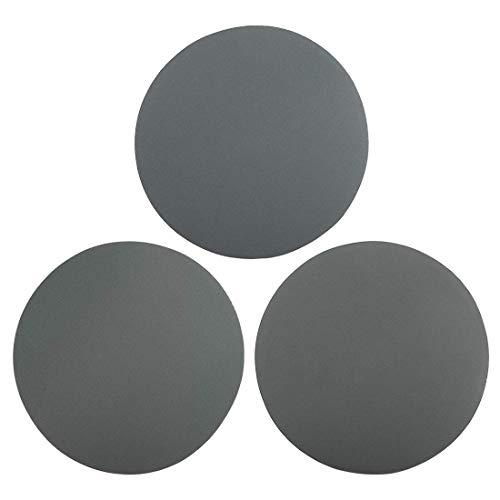 Disco de lijado con gancho y bucle de 6 pulgadas Carburo de silicio húmedo/seco Grano 800/1000/1200 Surtido 9 piezas