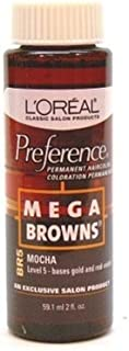 Loreal Preference #Br5 Mega Brown Mocha (3 Pack)