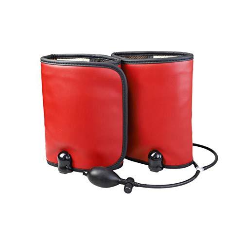 WANGXNCase Masajeador de Piernas, para Envoltura De Brazos De Pantorrilla con 10 Intensidades/Función De Calentamiento De 40-70 ° Que Mejora La Circulación Sanguínea