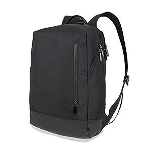 [Smart Traveler] ビジネス リュック メンズ 小型 pcリュック ビジネスバッグ バックパック 薄型 ミニ 小さめ コンパクト 出張 通勤 通学 軽量 黒 ( ブラック )