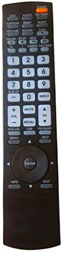 LR General Replacement Remote Control Fit for DS27800 AVM-3680G AVM-3680 DP26648 DP37649 DP37819 DP42848 DP46819 DP50719 DP52848 DP47460 for Sanyo GXDB LED HDTV TV