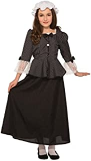 Forum Novelties 81226 Martha Washington Child's Costume, Large