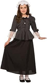 Martha Washington Colonial Costume for Girls