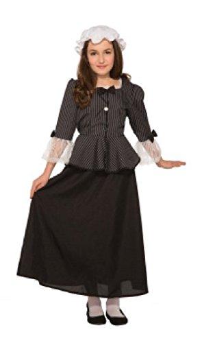 Forum Novelties 81226 Martha Washington Child's Costume, Large