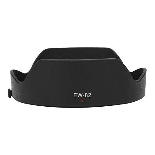 Sxhlseller Gegenlichtblende, EW-82 Qualität Tragbarer Kunststoff Lichtdichte Kamera Gegenlichtblende Schirm für Canon 16-35 mm F4L is USM für Seitenlicht- und Seitenlichtfotografie