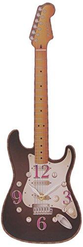 Puckator CKP68 Orologio a forma di chitarra, 3 x 17 x 50 cm, color assortiti