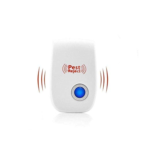 GRANTH ENTERPRISE Ultrasonic Pest Repeller to Repel Rats, Cockroach, Mosquito, Home Pest & Rodent Repelling Aid for Mosquito, Cockroaches, Ants Spider Insect Pest Contro (Pack of 1)