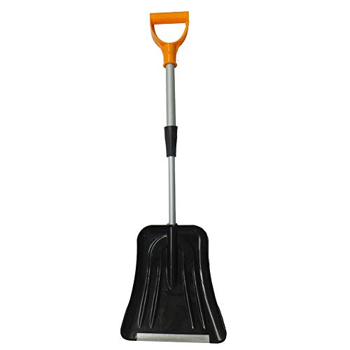Purchase GPFDM Snow Shovel with Adjustable Aluminum Handle Wide Blade Scoop Shovel, Digging Snow Rem...