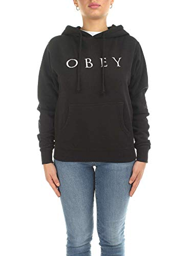 Obey 22418W136 Sudaderas Mujer Negro S