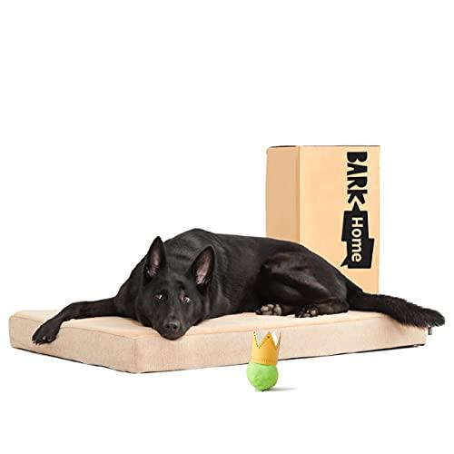 Barkbox Memory Foam Platform Dog Bed | Plush...