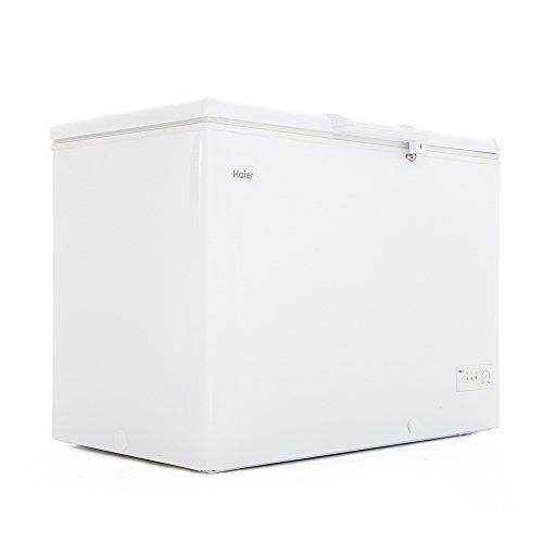 Haier BD-319RAA Autonome Coffre 319L A+ Blanc congélateur - Congélateurs (Coffre, 319 L, 20 kg/24h, SN-T, A+, Blanc)