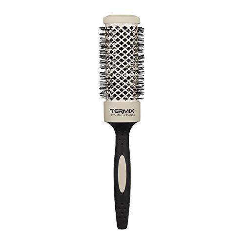 Termix Evolution Soft Ø37.-Cepillo térmico redondo con fibras especialmente diseñadas para cabellos delicados. Disponible en 8 diámetros y en formato Pack.