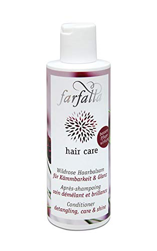 farfalla Hair care, Wildrose Haarbalsam, 200 ml