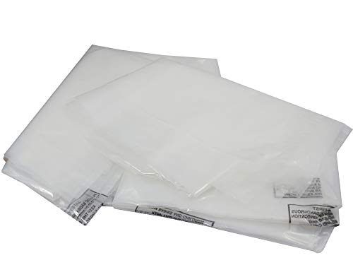 GP Globe Packaging 1 x Heavy Duty KING SIZE Thick Moving Mattress Polythene Cover Bag
