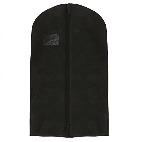 hoesh International Wasserdicht Schwarz Anzug deckt 101,6cm (100cm), gratis Druck im lieferumfang enthalten., schwarz, 24 x 40 inches, Packs of 5