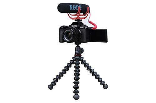 FUJIFILM X-S10 + XC15-4515-45mmF3.5-5.6 OIS PZ   SDHC 16GB UHS-1 Speicherkarte  Joby GorillaPod 1K Stativ   Rode VideoMIC Go Mikrofon Vlogger Set