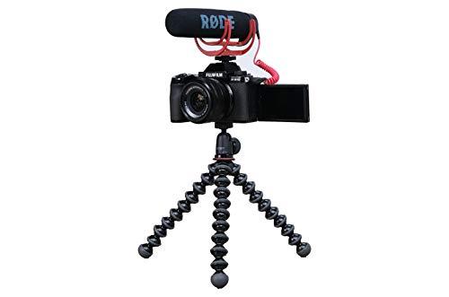 FUJIFILM X-S10- Vlogger Kit con Objetivo XC15-45mm/3.5-5.6 OIS PZ | SDHC 16GB UHS-1 | Trípode Joby...