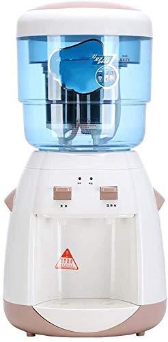 Reinigungsfilter Wasserspender 304 Edelstahl Liner Bucket Sieben-Schicht-Warm/Hot Art, 220V, Braun, 8.8L, 500W 527 (Color : Brown, Size : 33 * 36 * 60cm)
