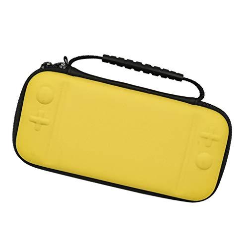 B Baosity Borsa Portatile Guaina Tasche da Viaggio Borsa per Nintendo Switch Lite - Giallo