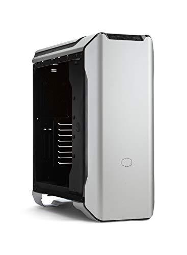 Cooler Master MasterCase SL600M - Case PC in Alluminio Ottimo Airflow in Verticale, Pannello Laterale Vetro Temperato, Sensore di Prossimità per Illuminazione e Superiore Compatibilità Hardware, Tower