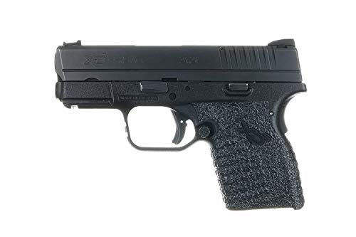 TALON Grips for Springfield Xds with Large Backstrap, Black Rubber for Springfield Xds with Large Backstrap