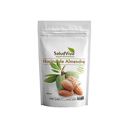 Salud Viva Harina de Almendra Ecológica Cruda 200 g