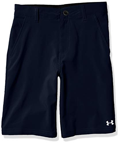 Under Armour Boys' Big UA Standard Short, Academy, 16