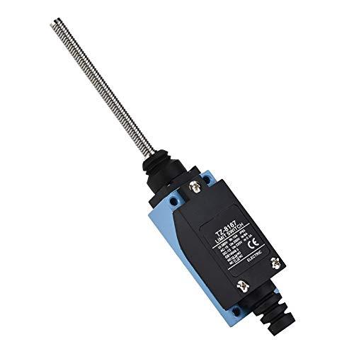 Interruptor micro impermeable Interruptor de límite momentáneo Reinicio automático Rodillo Amortiguador de resorte flexible Interruptor de varilla((BM-8167))