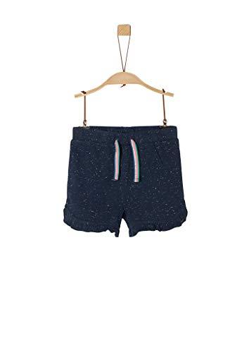 s.Oliver Junior Jogginghose Shorts, Mädchen, Blau 122 REG