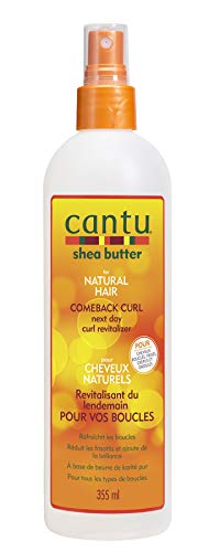 Cantu Comeback Curl Next Day Curl Revitalizer 12 Fluid Ounce