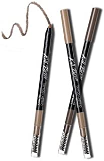 Clio Kill Brow Tattoo-Lasting Gel 001 Pencil, Natural Brown, 0.4 Gram