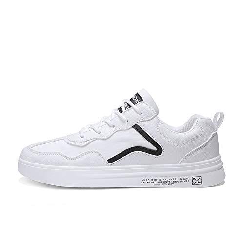 WL Mens Zapatos para Caminar Ocasional Entrenadores Zapatos Cómodos del Peso Ligero De La Lona De Los Holgazanes Planos De Las Zapatillas De Deporte Gimnasio Deporte Al Aire Libre De Los,2,41