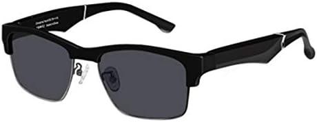 HMY Smart Bluetooth Glasses Earphone Anti-Blue Light Sports Wireless Stereo Glasses Earphone Waterproof Hands-Free Call Music Sunglasses