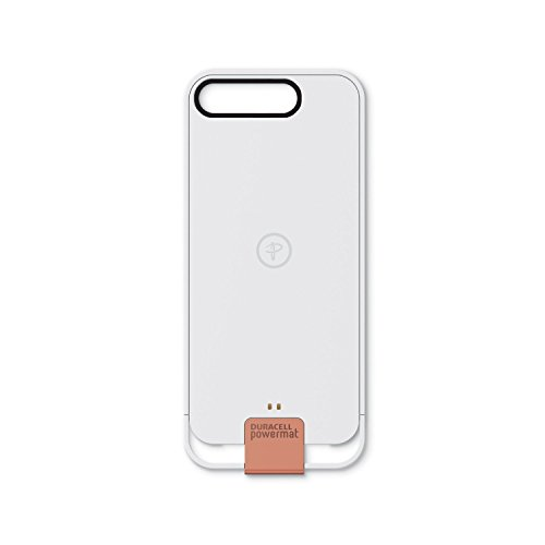 Duracell Powermat-Wireless Charging Case for iPhone 5s - Retail Packaging - White