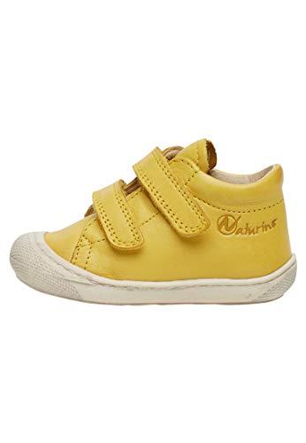 Naturino Cocoon VL-Lauflernschuh aus Leder-Gelb gelb 22