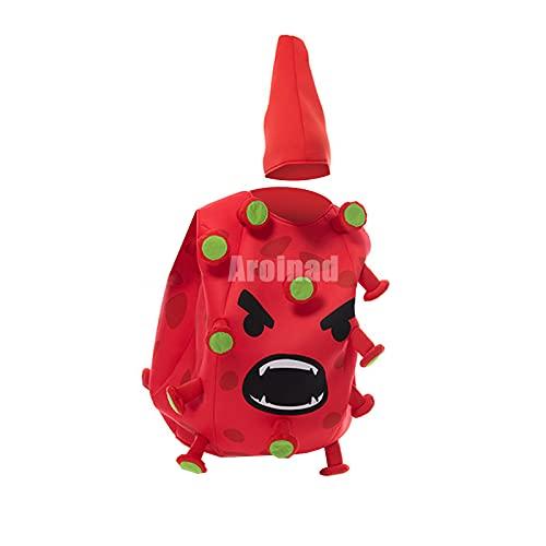 ULLAA Disfraz de Cosplay con forma de virus, mono divertido para regalo de Navidad, espectáculo de escenario, exposición de anime de Halloween