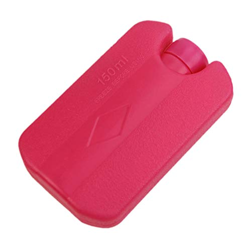 ZKDY 150Ml Universal Reusable Cool Ice Pack Bag First Aid Pain Relief Food Drink Storage-Hot Pink
