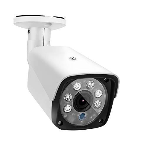 A+Xu Jie XJ 633H2 / IP 3,6 mm 2MP lente Full HD 1080P cámara de seguridad al aire libre IP66 cámara de vigilancia bala impermeable con función de visión nocturna de 20 metros (negro) (color: blanco)