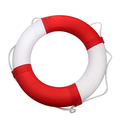 Flotador Donut Espuma Aro Salvavidas/Anillo de Natación Espía Círculo Grueso Sólido PU Cuero Verano Piscina Bote Crucero Viajero con Niños Adultos Pareja Fiesta de la Piscina o de la Pla